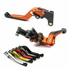 Various Color GAP Extendable Folding Brake Clutch levers for KTM 990 SMR 990 SMT