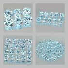 2mm Lot 6,10,20,100pcs Round Cut Accent Stone Natural Sky Blue TOPAZ