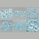 2.5mm Lot 6,10,20,50,100pcs Round Cut Accent Stone Natural Sky Blue TOPAZ
