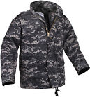 Subdued Urban Digital Camouflage Military M-65 Field Coat Army M65 Jacket