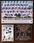 Miracle Mets 1969 World Series Champions Photo Plaque