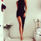 Sexy Women Sleeveless Bandage Bodycon Party Cocktail Long Maxi Dress AS HOT