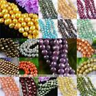 1 Strand Womens Cultured Freshwater Pearl Loose Beads Fit Jewelry DIY Gift 5-9mm