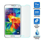 Genuine Premium Tempered Glass Film Screen Protector for SAMSUNG GALAXY S5 NEW!!