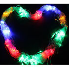 120/300 LED Net Mesh Fairy String Light 3 Color Linkable Lights for Xmas Party