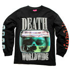 "MISHKA NYC ""Static Age"" Long Sleeve Tee (Black) Men's Graphic T-Shirt"
