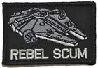 Rebel Scum Alliance Star Wars 2x3 Military/Morale Patch with Hook Fastener $5.99 USD on eBay