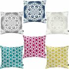 Rocco Vintage Oriental Bali Morocco Embroidered 43x43cm Cushion Cover with Pad
