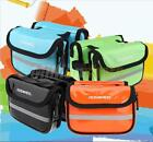 ROSWHEEL Bicycle Cycling Frame Tube Front Double Pouch Bike Saddle Bag Panniers
