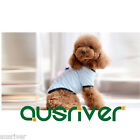 Small Dog Pet Puppy Cute Cotton T-Shirt Bow Summer Apparel Costumes Poodle XS-XL