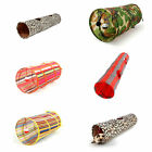New Pet Toy Cat Tunnel Leopard Tube Kitten With Ball Colorful Kitty Way Multiple