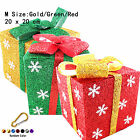 3 Colour Christmas Presents/Parcels/Decoration + Buckle