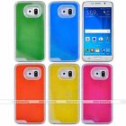 Liquid Fluorescent Luminous Quicksand Phone Case Cover For Samsung Galaxy S5 6