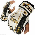 MMA Grappling Gloves UFC Fight Cage Boxing Sparring Punching Mitt Kick Leather