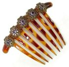 Sparkling Austrian Crystals French Comb w  Swarovski Elements 918