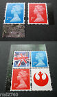 2015 STAR WARS Single M15L MPIL Machins and Flag Stamps from PSB DY15 £4.25 GBP