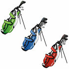 WILSON JUNIOR DEEP RED PACKAGE SET - NEW CLUBS BAG KIDS YOUTH IRONS RIGHT HAND