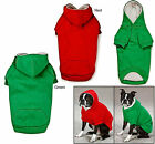 Zack and Zoey Fleece Lined Dog Hoodie. Different Sizes & Colors - Free Shipping