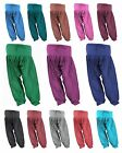 Indian Cotton Patiala Salwar Pants Casual Wear Yoga Women 13 Colors 6 Sizes