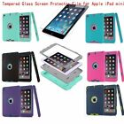 New Shockproof Heavy Duty Rubber Hard Case Cover For Apple iPad Mini1/2/3+Protec