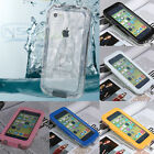 Shockproof Waterproof Dirt Proof Touch Screen Case Cover For Apple iPhone 5C FO