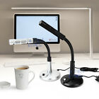 USB Desktop Microphone MIC for PC MAC Laptop Skype Chatting 360 Degree NEW AU