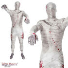 MENS MUMMY MORPHSUIT HALLOWEEN FANCY DRESS COSTUME