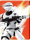 Star Wars The Force Awakens Flametrooper Paint Large Canvas Print 60x80x3.8cm