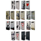 BRANDALISED STREET TAGS LEATHER BOOK CASE FOR BLACKBERRY ASUS ONEPLUS PHONES