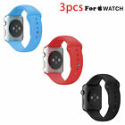 Silicone Sport Wrist Band Bracelet Strap For Apple Watch Series 1 2 38mm/42mm фото