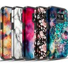 Samsung Galaxy S6 Case, Impact Dual Layer Shockproof Bumper Case
