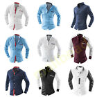 Luxury Mens Slim Fit Long Sleeve Casual Dress Business Shirts Tops Collection