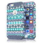 for NEW iPhone 6 / 6S - Rugged Hybrid Shockproof Hard & Soft Rubber Cover Case