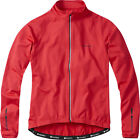 Madison Peloton Men's Long Sleeve Thermal Roubaix Jersey / Jacket - Flame Red