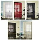 STRING CURTAINS FOR DOORS WINDOWS DIVIDERS FLY SCREEN DOORWAY BEDROOM NET DECOR