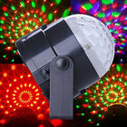 LED Lighting Full Color Rotating Lamp Disco Party Bar Club Effect Lights Stage
