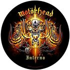 Motorhead Inferno giant round backpatch sew-on cloth patch     (ro)