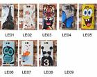 For Huawei Ascend G620 Tiger Tower Rose Wolf Owl Fish Cat Girl Hard Case Cover