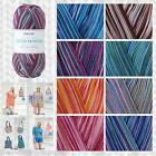 SIRDAR COTTON PRINTS DK KNITTING & CROCHET YARN & PATTERNS - FULL COLLECTION
