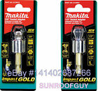 "Makita Impact GOLD (Impact Rated) Socket Adapter (3/8"" or 1/2"") NEW"
