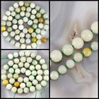 """Wholesale Green Natural Jade Round Spacer Knot Beads Spacer 15"""" 5mm 7mm"""