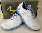 FootJoy M Project Womens Golf Shoes - White Light Blue -  #95656 - New in Box