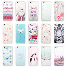 New Chic Cartoon Pattern Soft TPU Back Phone Case Cover For iPhone 5S/6/6S/6P ZO