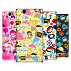 HEAD CASE DESIGNS PERKY PRINTS HARD BACK CASE FOR SONY PHONES 3