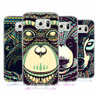 HEAD CASE DESIGNS AZTEC ANIMAL FACES 3 SOFT GEL CASE FOR SAMSUNG PHONES 1