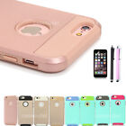 For Apple iPhone X 8 7 6 6s Plus Cover Case Shockproof Hybrid Rugged Rubber Hard
