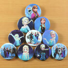 10 pcs Winter Princess Big Little Sister Snowman Badge Button Birthday Gifts #2