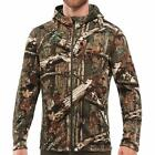 New IceBreaker Kodiak RealFleece Wool Hooded Camo Jacket Mossy Oak M/L/XL/2XL