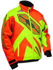 NEW CASTLE X JACKET - YOUTH LAUNCH G3 - HI-VIS AND ORANGE
