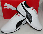 Puma Golf Ace Mens Golf Shoes - White Black High Risk Red - New for 2016